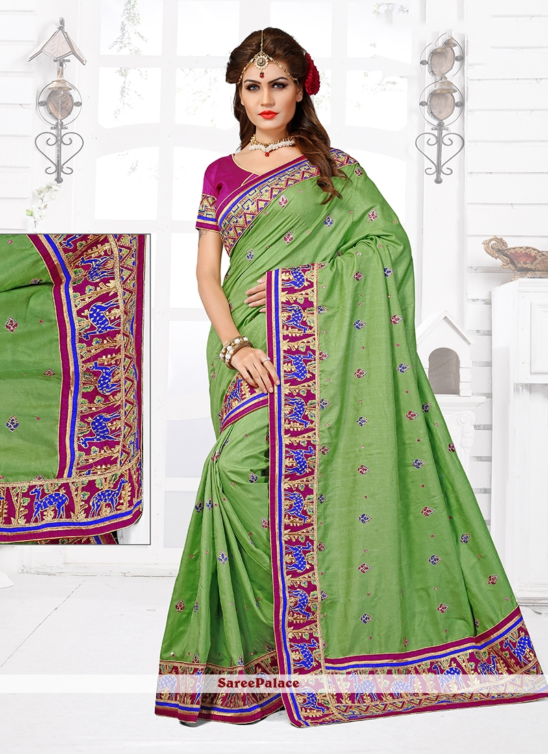 Absorbing Designer Traditional Saree For Wedding