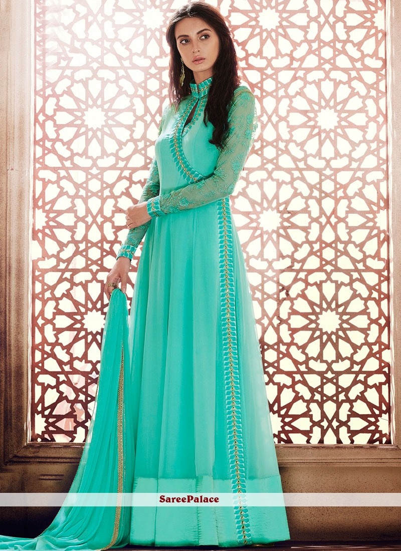 Amazing Georgette Anarkali Salwar Suit