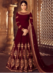 Anarkali Salwar Suit For Mehndi