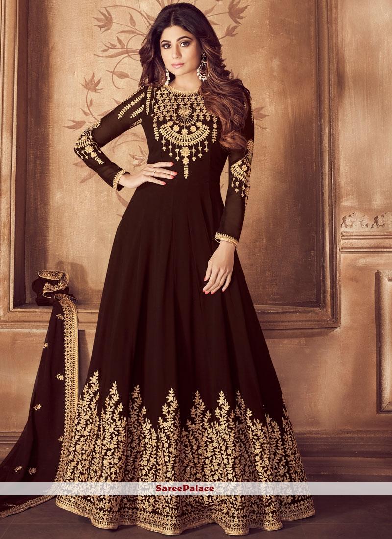Anarkali Salwar Suit For Wedding