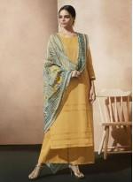 Appealing Cotton   Designer Palazzo Suit