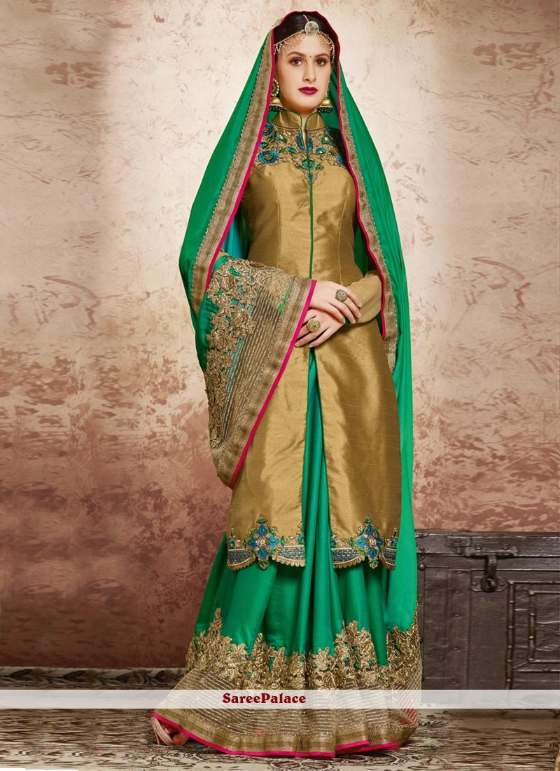 Appealing Embroidered Work Classic Designer Saree