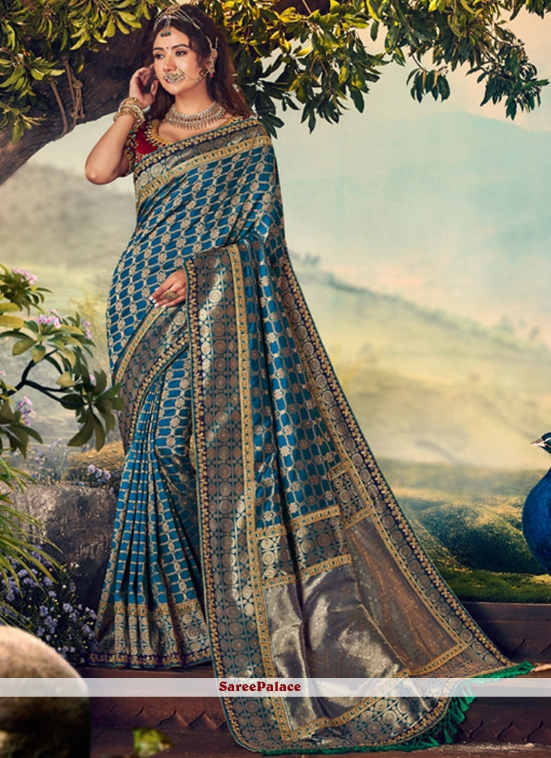Art Banarasi Silk Designer Traditional Saree