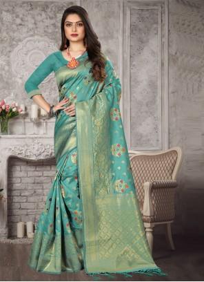 Rama Art Banarasi Silk Designer Traditional Saree