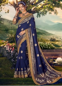 Art Banarasi Silk Party Designer Traditional Saree
