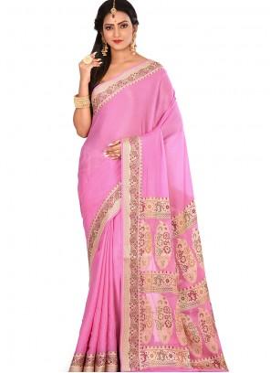 Art Banarasi Silk Sangeet Designer Traditional Saree