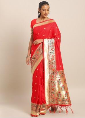 Art Banarasi Silk Weaving Saree