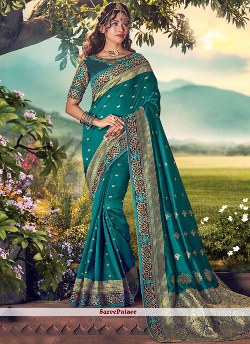 Art Dupion Silk Weaving Designer Traditional Saree
