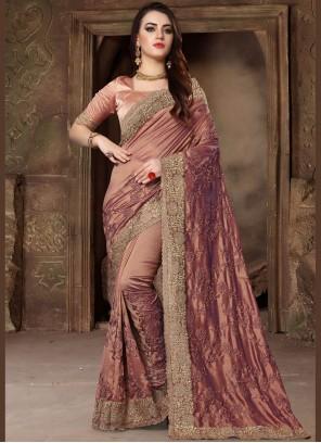Art Silk Bridal Classic Designer Saree
