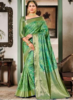 Art Silk Ceremonial Designer Saree