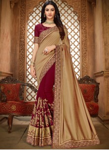 Art Silk Ceremonial Saree