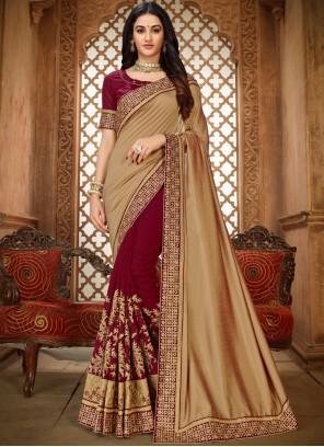 Art Silk Ceremonial Saree