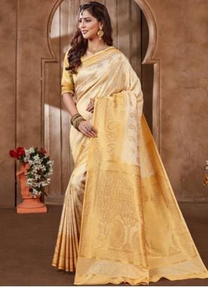 Art Silk Embroidered Designer Traditional Saree