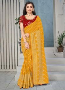 Art Silk Festival Classic Saree
