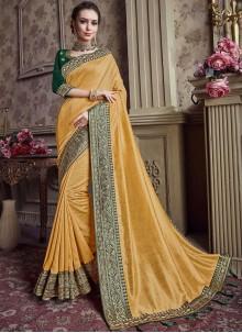 Art Silk Festival Designer Saree