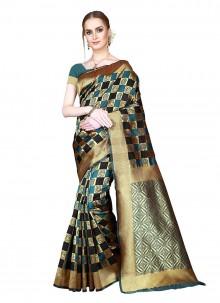 Art Silk Festival Saree