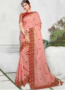 Art Silk Grey Saree