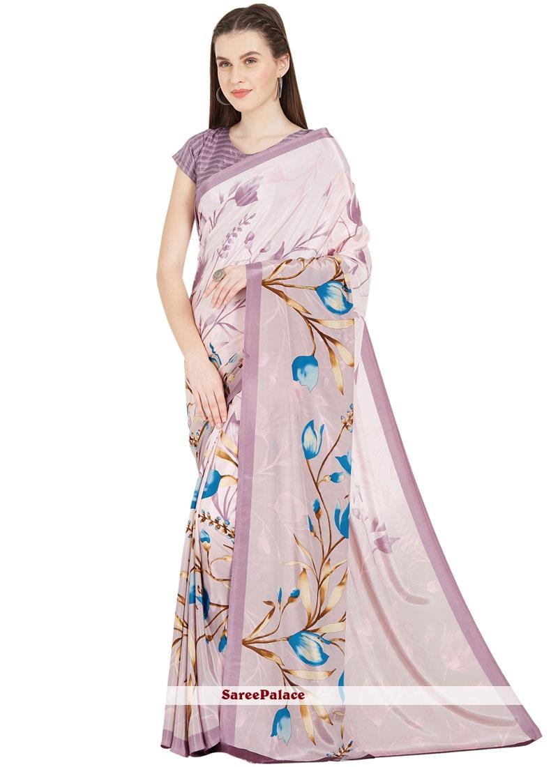 Art Silk Multi Colour Casual Saree