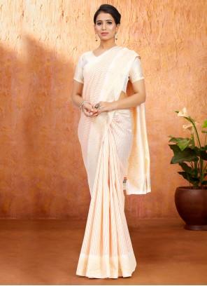 Art Silk Multi Colour Traditional Saree