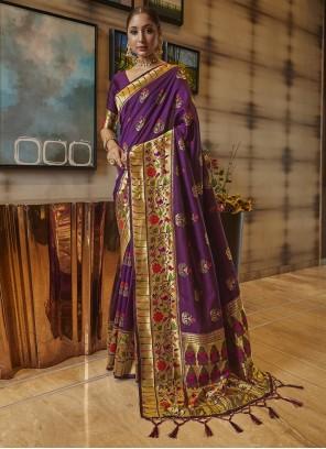 Art Silk Party Classic Saree