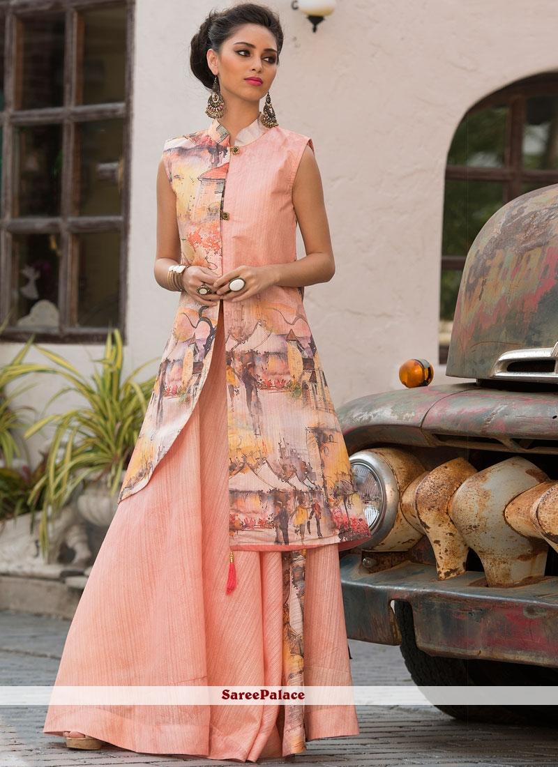 c883519b23 Buy Multi Color Art Silk Party Designer Gown Online