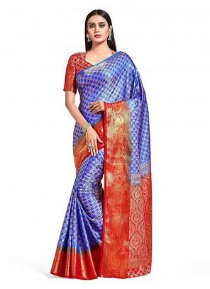 Art Silk Printed Designer Traditional Saree