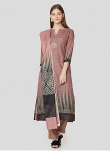Art Silk Printed Salwar Suit