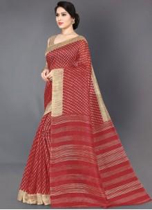 Art Silk Reception Casual Saree