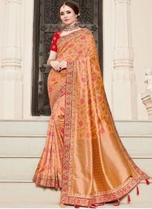 Art Silk Resham Traditional Designer Saree