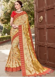 Art Silk Resham Traditional Saree