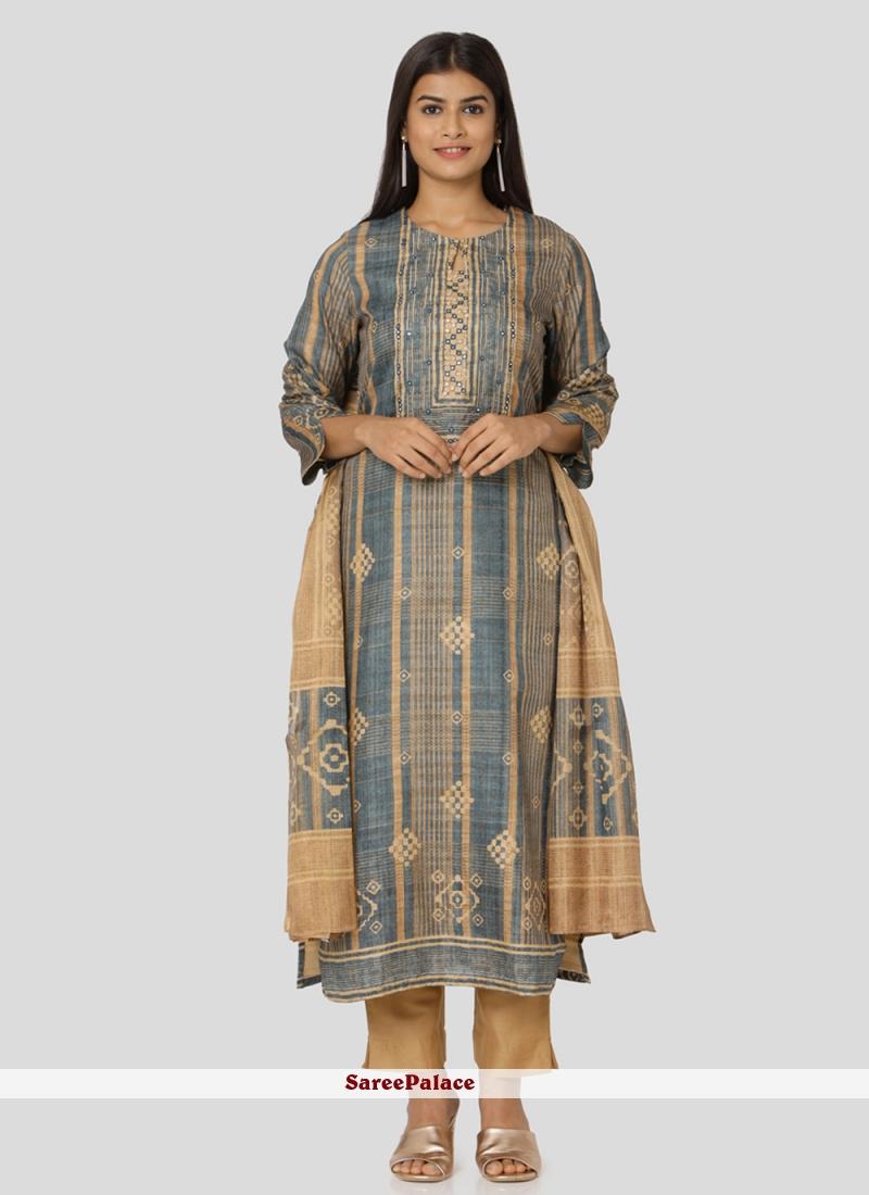 Art Silk Salwar Kameez