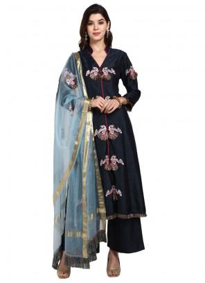 Art Silk Thread Designer Pakistani Suit