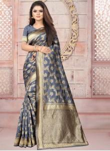 Art Silk Weaving Casual Saree
