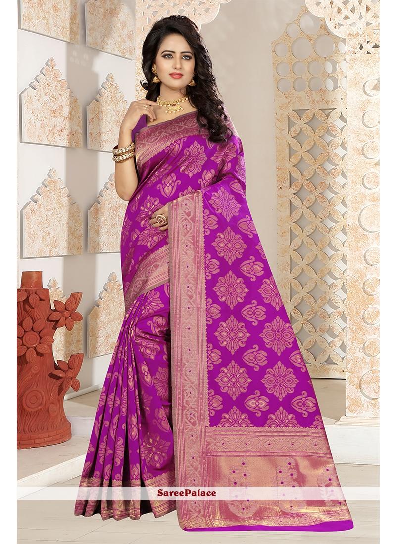 Art Silk Weaving Work Designer Traditional Saree