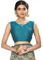 Art Silk Woven Multi Colour Designer Traditional Saree