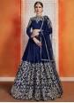 Art Silk Zari Designer Lehenga Choli
