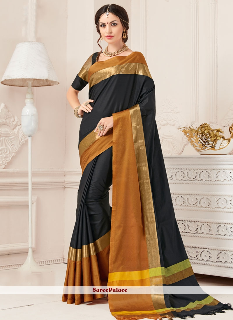 Aspiring Art Silk woven Work Designer Traditional Saree