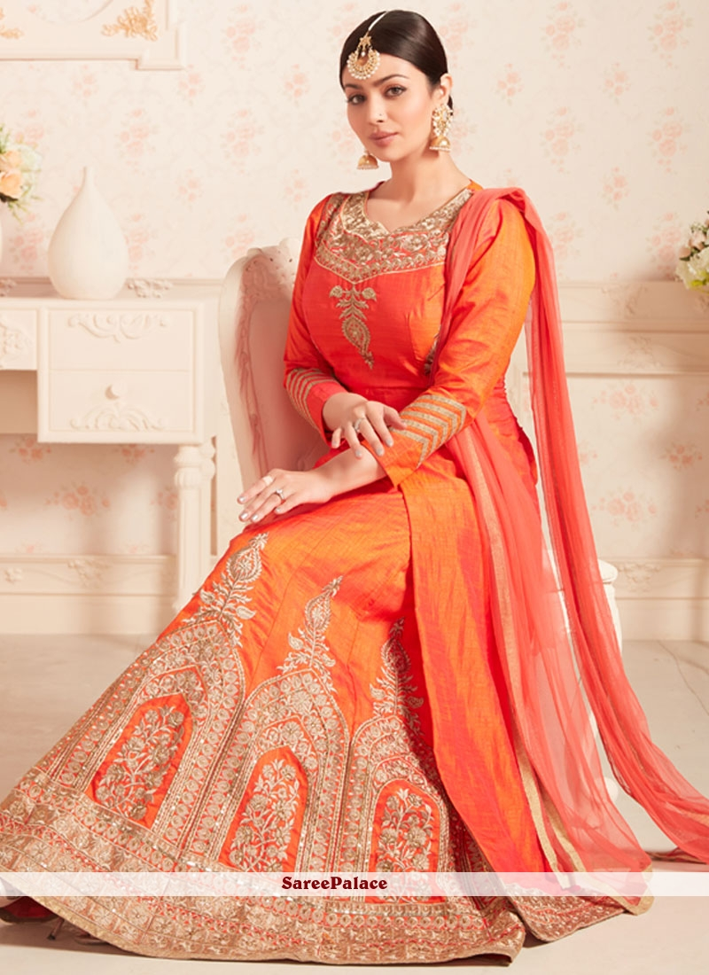 Ayesha Takia Banarasi Silk Embroidered Work Long Choli Lehenga
