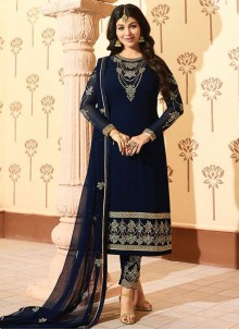 Ayesha Takia Embroidered Work Pant Style Suit