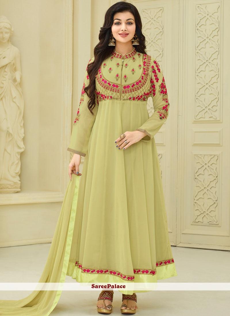 bd66472aeb Buy Ayesha Takia Faux Georgette Anarkali Suit Online