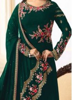Ayesha Takia Green Designer Straight Suit