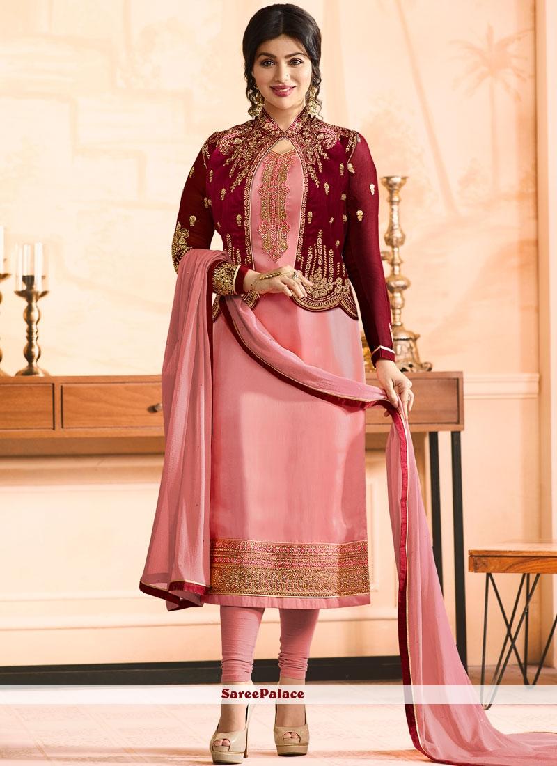 Ayesha Takia Resham Work Jacket Style Suit