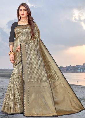 Banarasi Silk Casual Traditional Saree