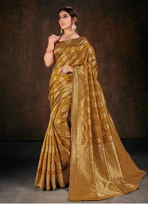 Banarasi Silk Festival Bollywood Saree