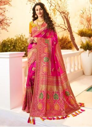 Banarasi Silk Festival Classic Designer Saree