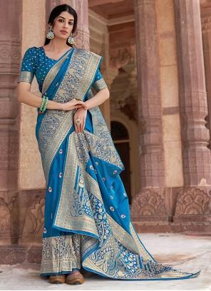 Banarasi Silk Festival Traditional Designer Saree