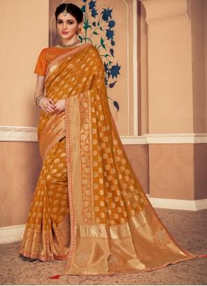 Banarasi Silk Gold Classic Saree