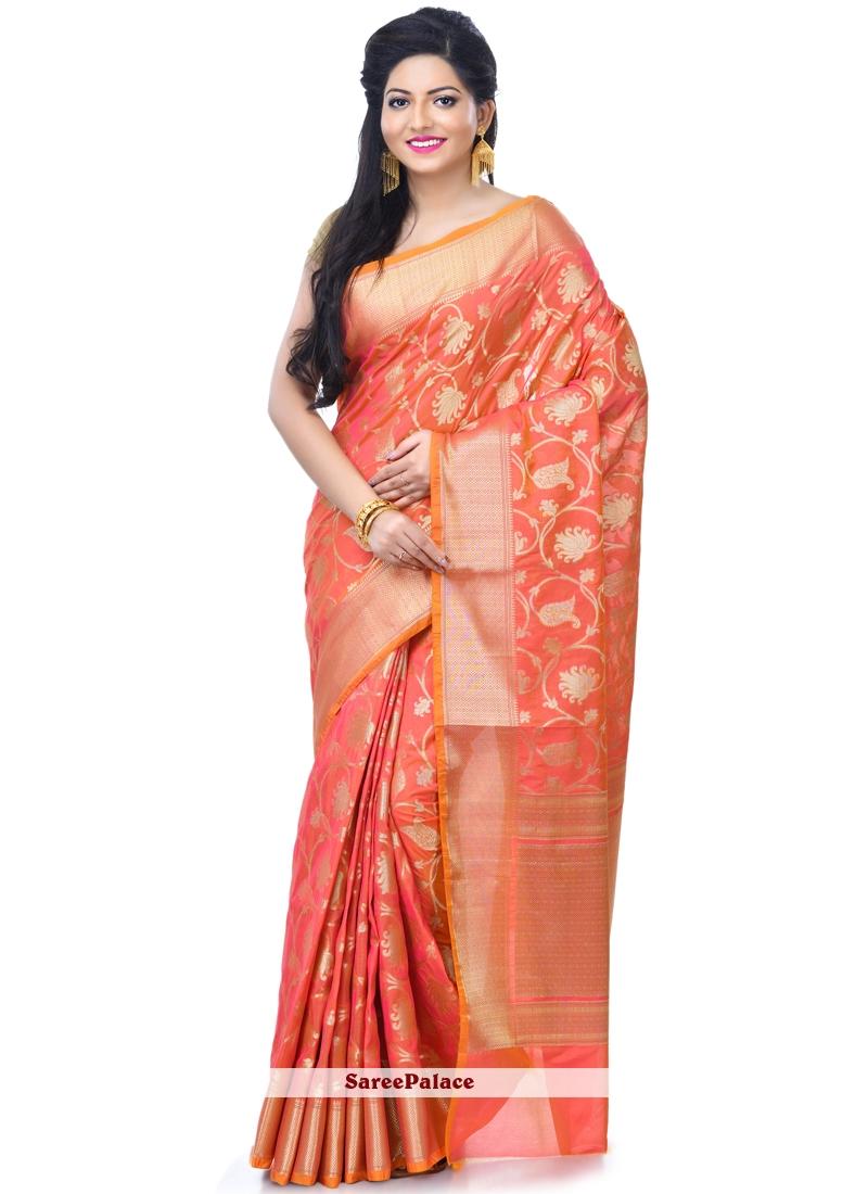 Banarasi Silk Sangeet Classic Designer Saree
