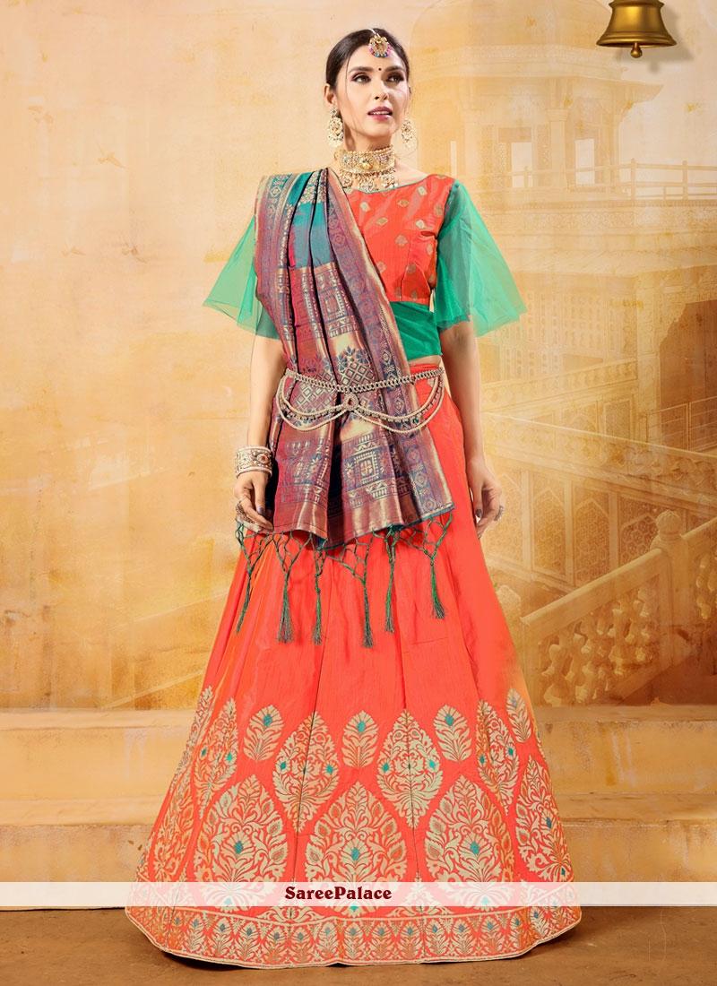 Banarasi Silk Sangeet Designer Lehenga Choli