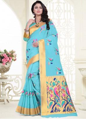 Banarasi Silk Weaving Classic Saree